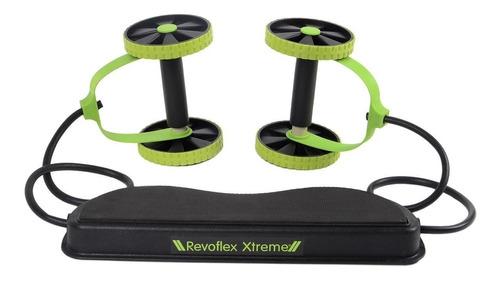 rueda para abdominales revoflex xtreme tv + bandas elásticas