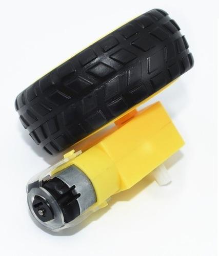 rueda para botica carro rc arduino motor dc