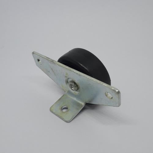 rueda para cama (camera) anclaje lateral x 4 unidades