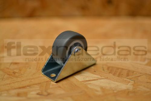 rueda para cama (camera) banda gris antimarca x 4 unidades