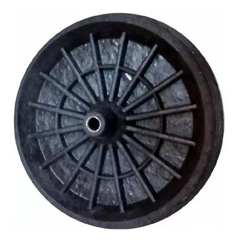 rueda para carretilla goma maciza 350x60mm