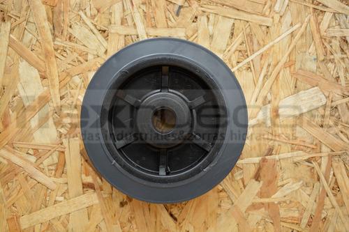 rueda para carro diametro 150 mm goma