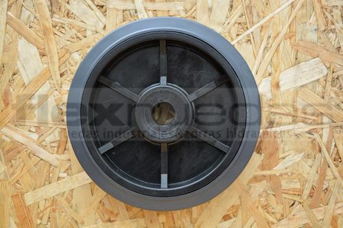 rueda para carro diametro 175 mm goma