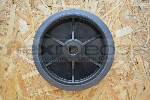 rueda para carro diametro 200 mm goma