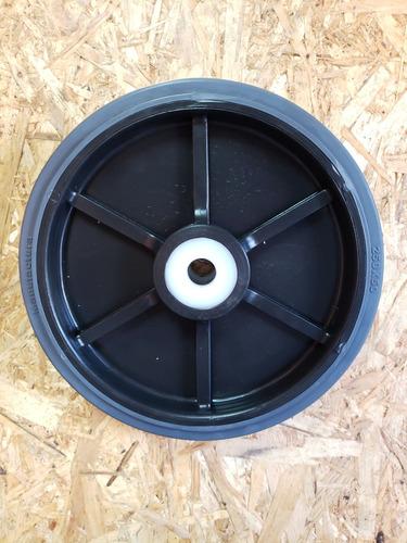 rueda para carro diametro 250 mm goma