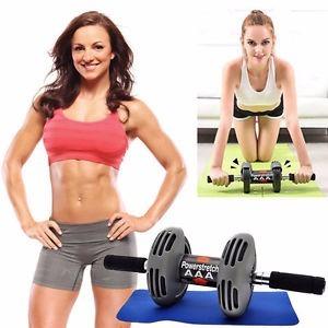 rueda para ejercicios abdominales power strech roller