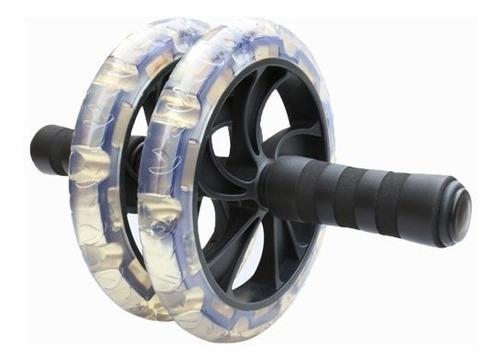 rueda para ejercitar abdomen rodillo abdominales +tapete gym