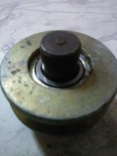 rueda para porton 2 en v sin base de buje