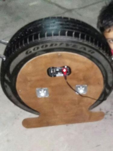 rueda parlante potenciada