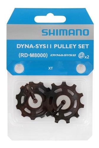 rueda polea de cambio bicicletas shimano xt m8000 11 vel