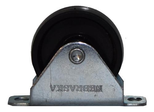 rueda polipropileno fija camera 45mm 35k nerumca045 nebraska