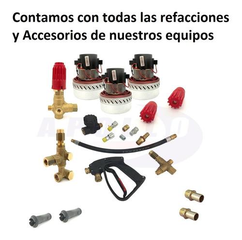 rueda refacción aspiradora industrial 4 piezas viper apollo