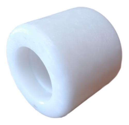 rueda rodillo para zorra hidráulica nylon 80x70mm sin rulema