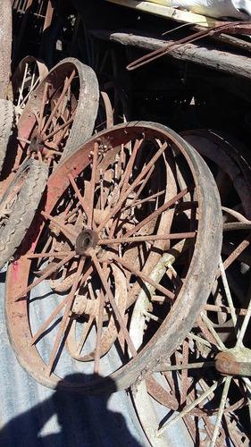 rueda sembradora antigua de hierro fletes gratis a pompeya