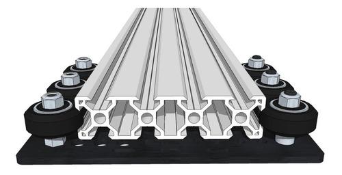 rueda solida v derlin mejor que openbuilds perfil minifab 3d