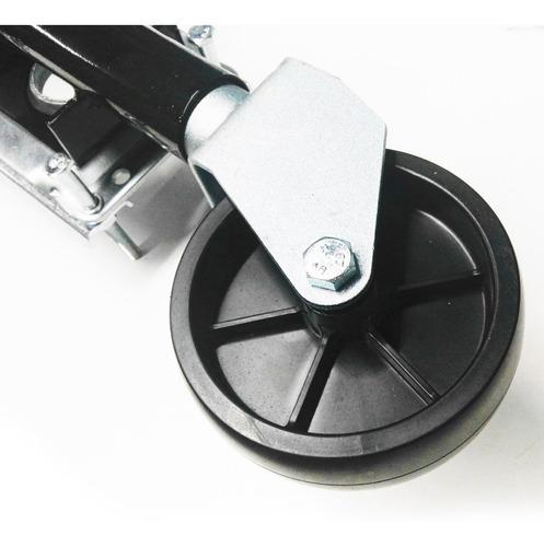 rueda timonera para trailer con base rotativa 364 kgs