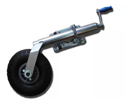 rueda timonera trailer rebatible regulable envio gratis