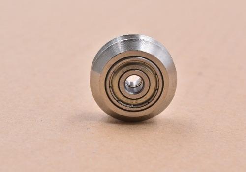 rueda tipo openbuilds acero inoxidable 304 eje 5mm