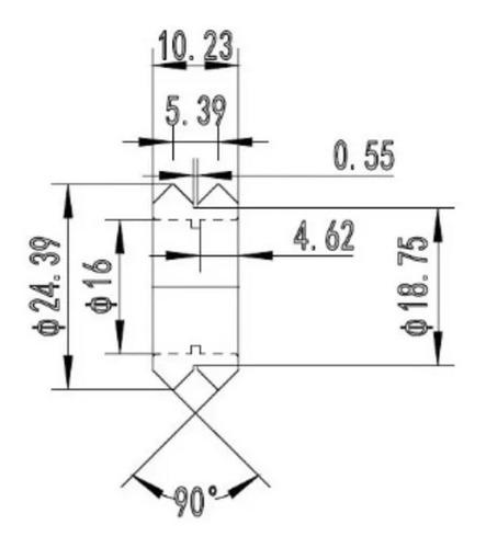 rueda tipo openbuilds de polioximetileno eje 5mm