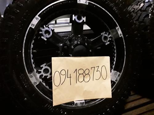 rueda x4 6 agujeros