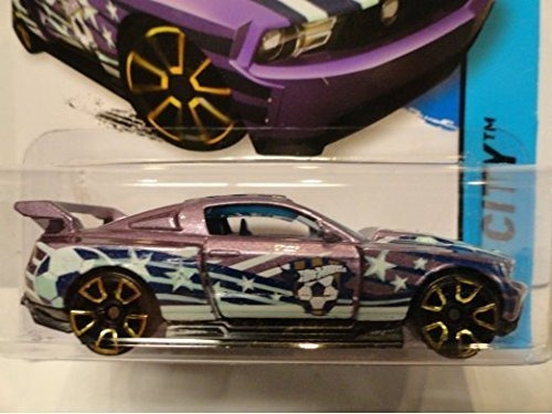 ruedas calientes custom 12 ford mustang purpura ruedas calie