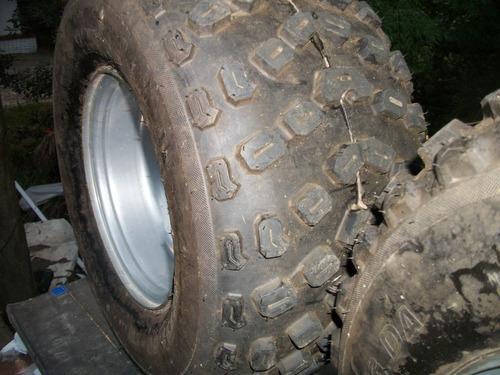 ruedas completas para cuatriciclo o arenero