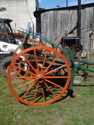 ruedas de carretas antiguas en buen estado originales