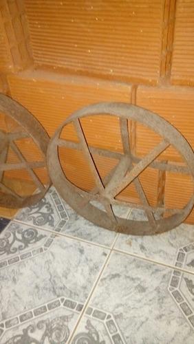 ruedas de carretillas hierro