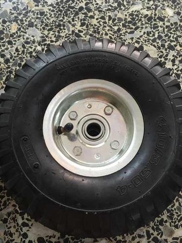 ruedas de carruchas aire
