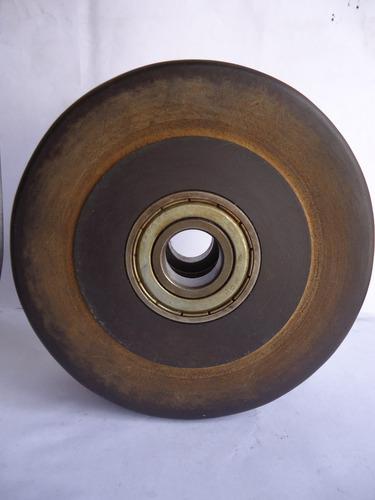 ruedas de fibra fenolica de 149mm con rodamiento 6204zz