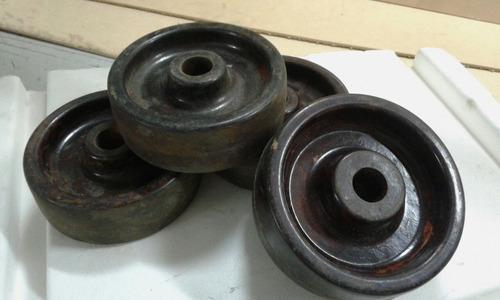 ruedas de micarta