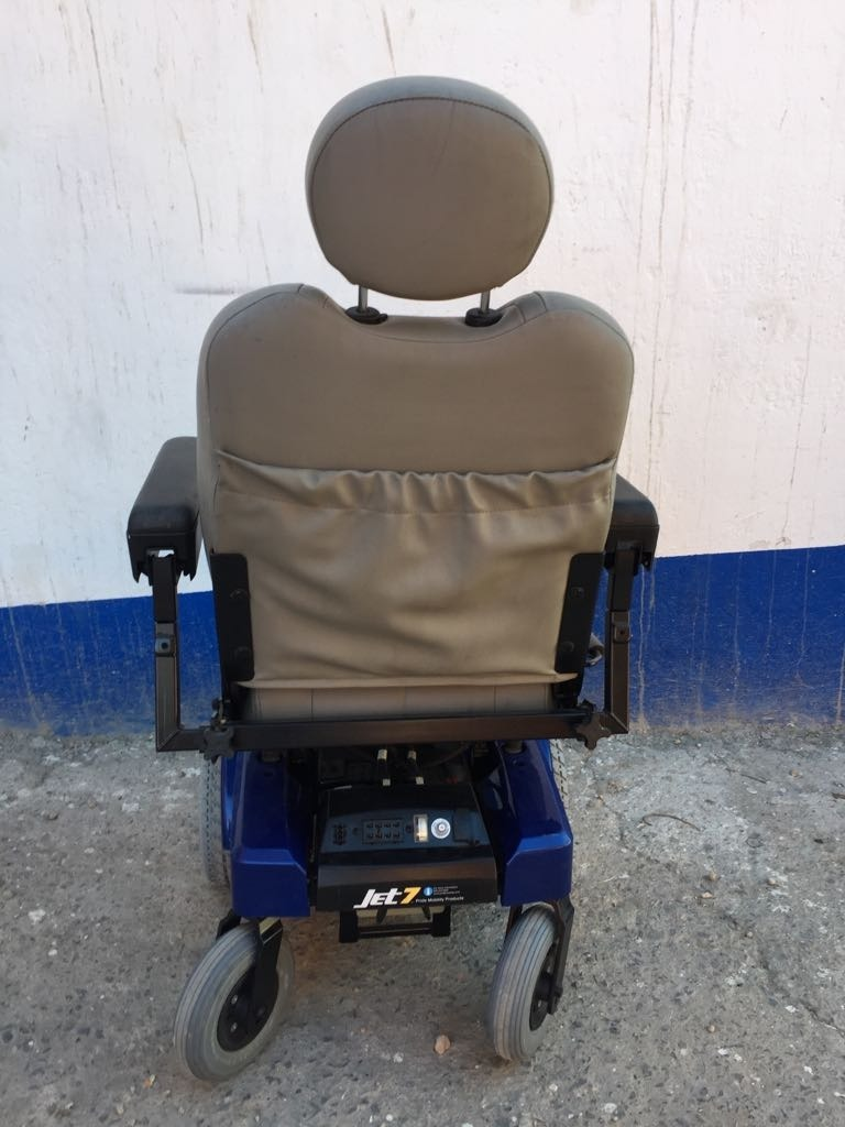 silla de ruedas electrica jet 7 precio