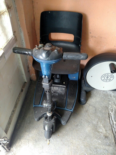 ruedas eléctrica silla
