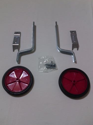 ruedas estabilizadoras para bicicletas de niños