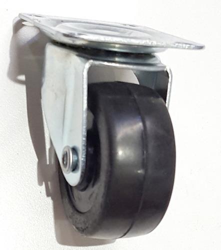 ruedas giratoria 50 mm x 4 unid mueble pallets verashop