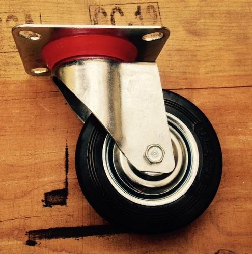 ruedas giratorias ø100mm para mesa de pallet x4