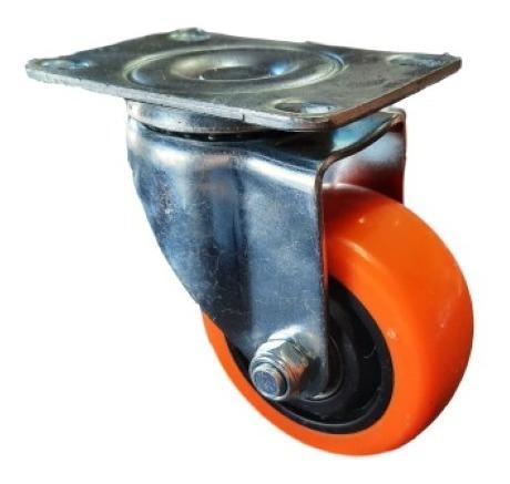 ruedas giratorias 4 unidades diámetro 75 mm poliuretano