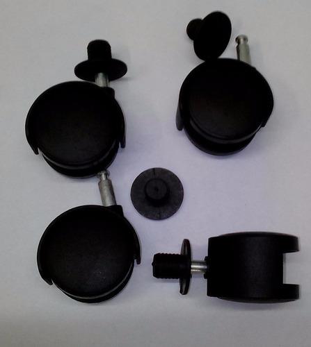 ruedas guiratorias para mesas/sillas/muebles de ofic. emp. 4