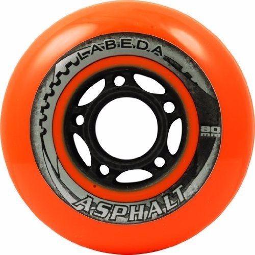 ruedas labeda asphalt hard 80mm por 4 unidades originales