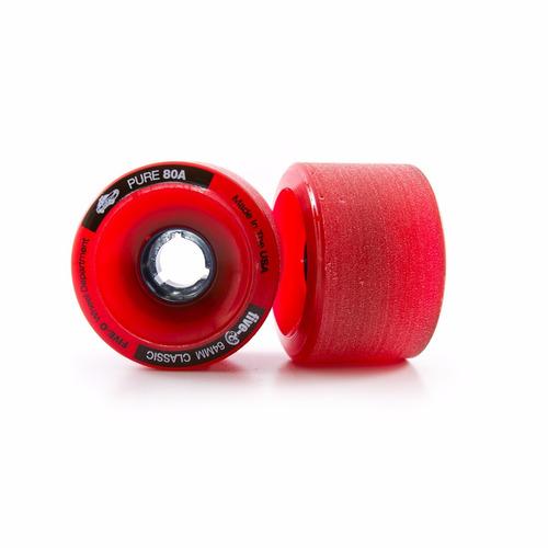 ruedas longboard freeride five-o red en oferta