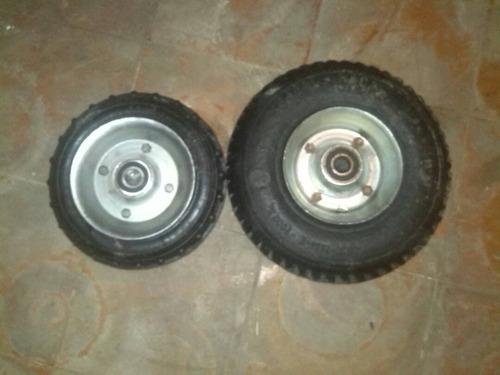 ruedas maciza para carritos de helados  carrucha 8  10  pulg