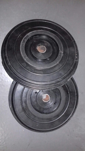 ruedas macizas de 9  para carrucha