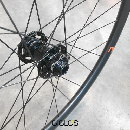 ruedas mtb novatec factor r29 6t carbono tubeless - ciclos