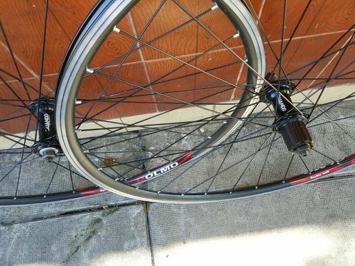 ruedas olmo ruta carrera rodado 28 aluminio