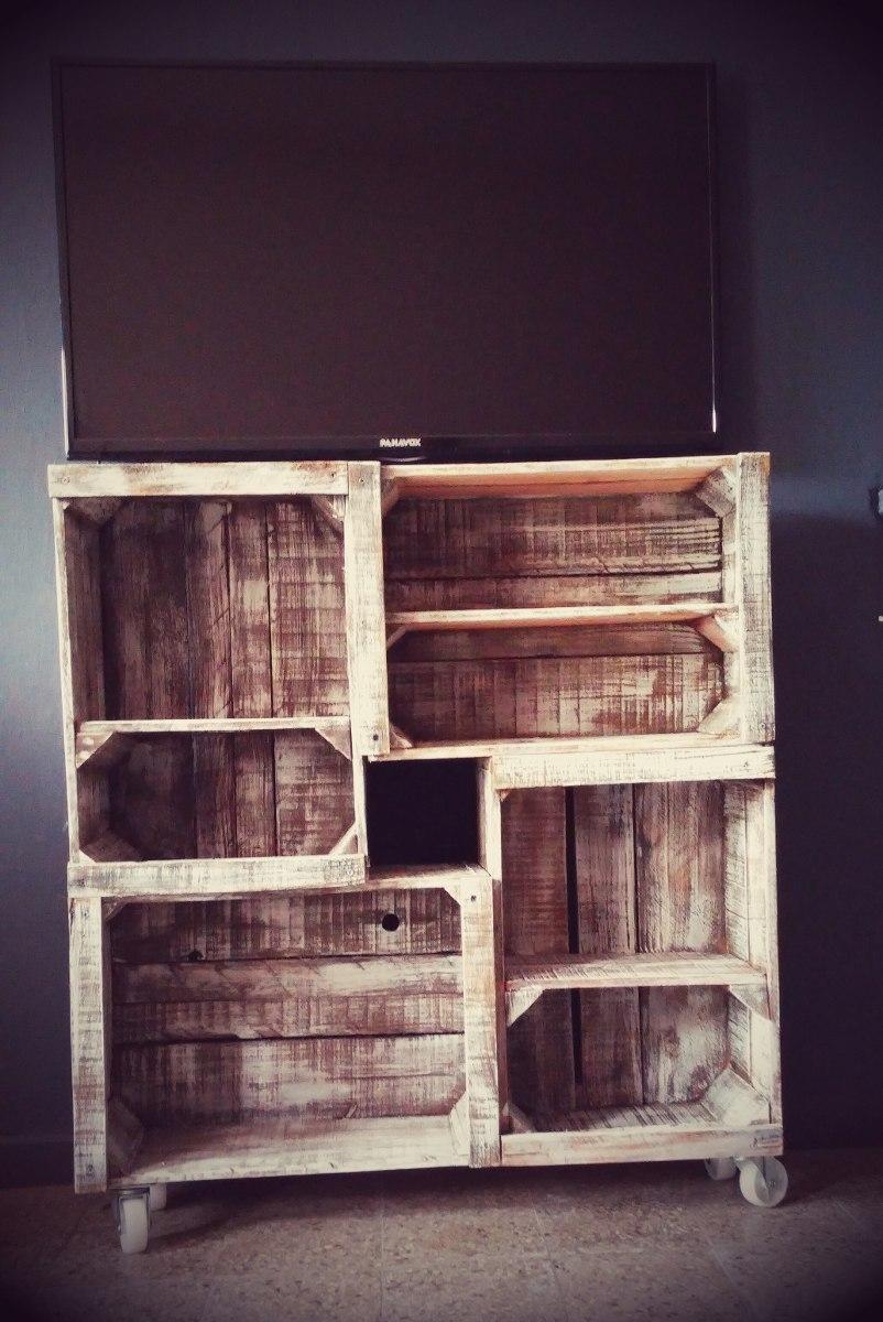 Ruedas p muebles con cajones de frutas y verduras o for Muebles con cajones de madera