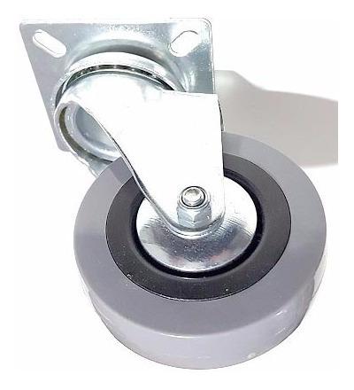 ruedas pallets giratoria 75 mm 2 con freno y 2 sin verashop