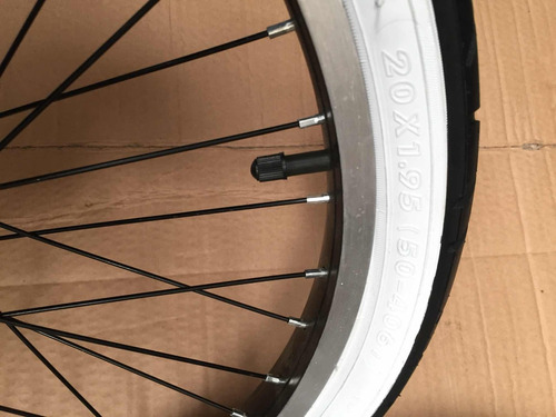 ruedas rodado 20 aurorita banda blanca importada