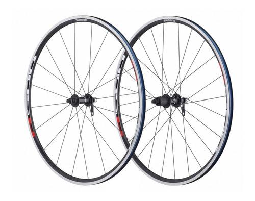 ruedas ruta shimano r501 p/ 8v 9v y 10v - ciclos