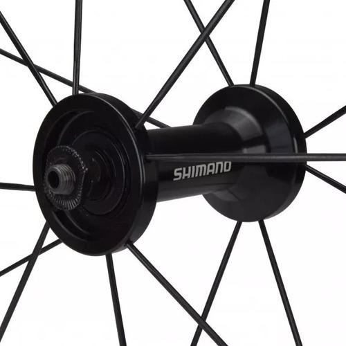 ruedas shimano 105 wh-rs-330 ruta 28 piñon 8-9-10-11