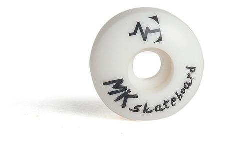 ruedas skate mkskateboard  52 mm x 30 mm dureza 78 a.